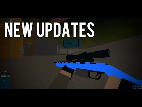 NEW UPDATES ON PHANTOM FORCES... (Test Place)