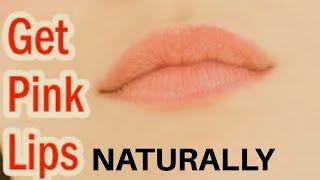 HOW TO GET PINK LIPS NATURALLY? गुलाबी होठों के लिए के लिए क्या करें ? by Dr. Manoj Das