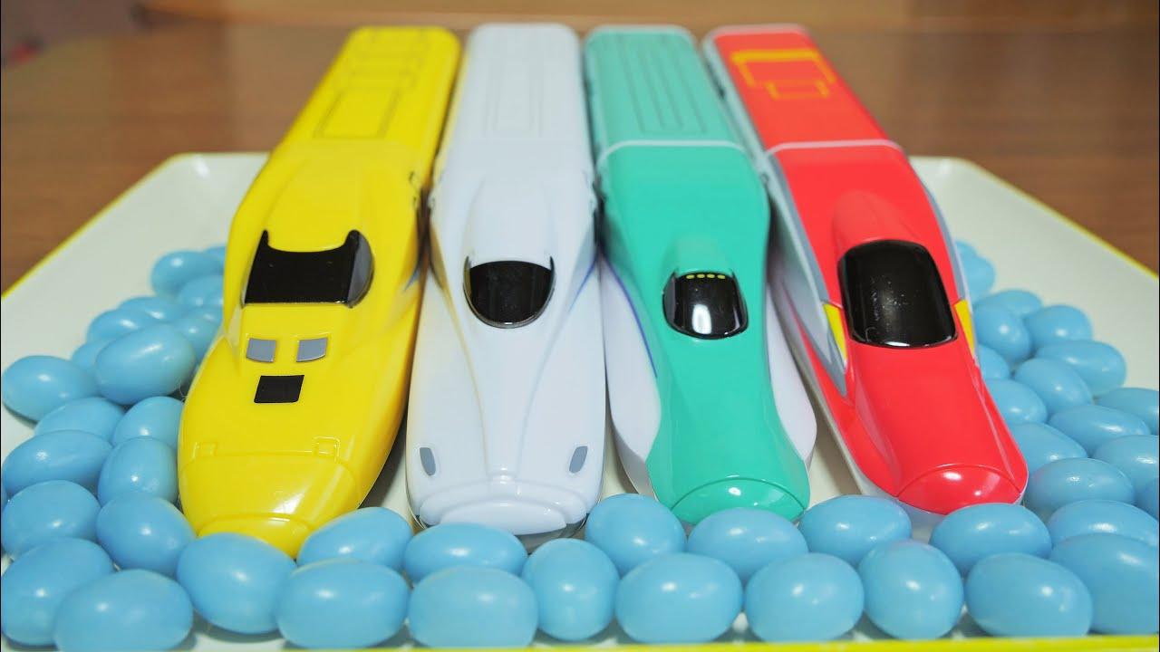 スピードGO(新幹線GO)がリニューアルでN700A新幹線が登場‼ 北海道新幹線H5系やE6系新幹線こまちそしてドクターイエローの全4種