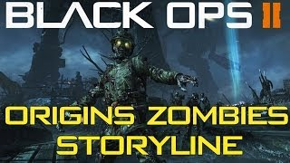 """Black Ops 2 Zombies - """"ORIGINS"""" Storyline! The 1918 Story, Cutscene Explanation & The Cycle"""