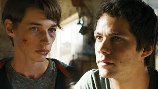 Aris tells Thomas that Minho WAS on the train [The Death Cure]
