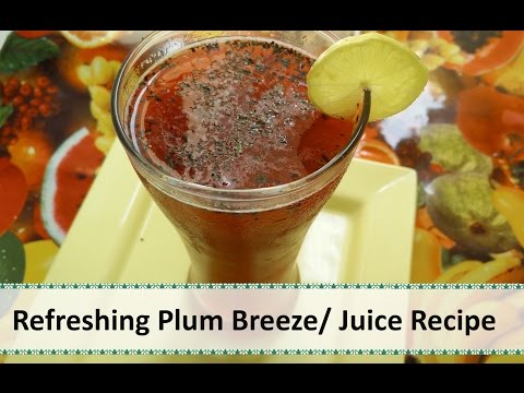 Refreshing Plum Juice | Summer Drink Recipe by Healthy Kadai