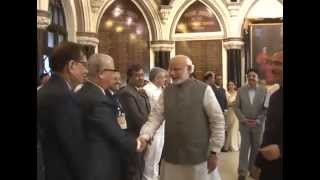 PM Modi interacts with Bombay High Court judges in Mumbai