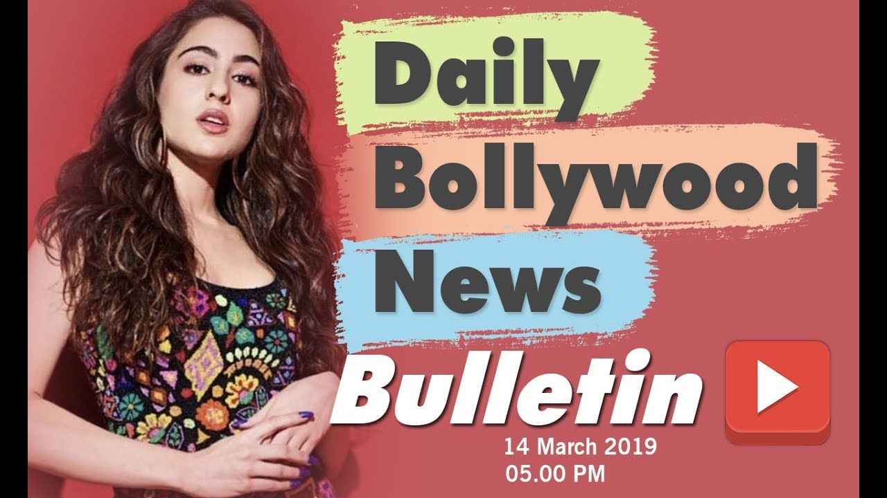 Latest Hindi Entertainment News From Bollywood   Sara Ali Khan   14 March 2019   05:00 PM