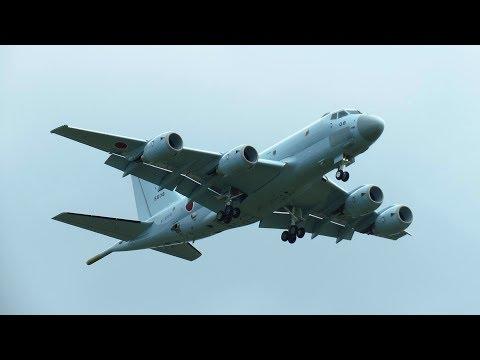 KAWASAKI P1 - INCREDIBLE Flying Display at ILA 2018 Air Show Berlin!