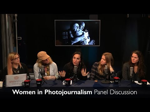 Women in Photojournalism - Panel Discussion