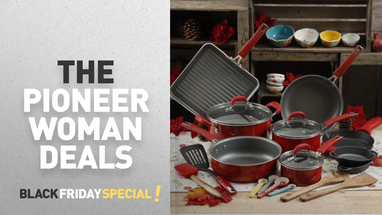 Walmart Pioneer Woman Kitchen Set For Black Friday