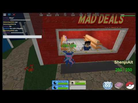 roblox pokemon fighters ex codes by NMgameronline