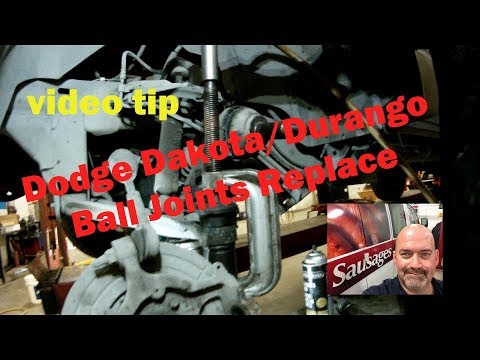 Dodge Dakota Durango Ball Joints Replace