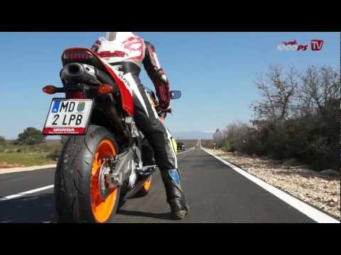 Honda CBR 600 RR 0 - 240 km/h   Acceleration Foto