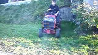 snapper 2000 gx riding mower with 18 hp kohler magnum engine