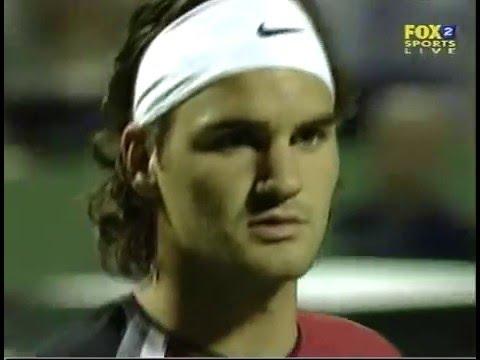 Federer vs Agassi - Miami 2005 SF
