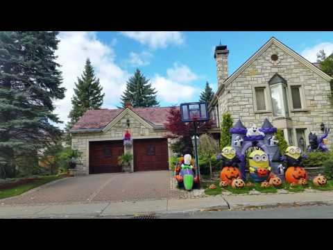 One of The most beautiful Halloween  decoration  you can see in Montreal