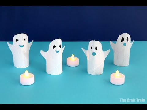 Paper roll ghosts