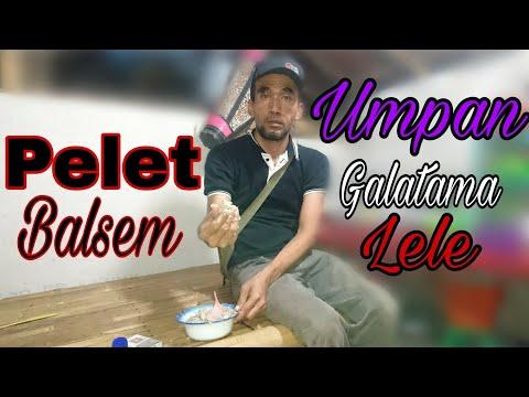Tips dan cara membuat - umpan pelet balsem ; untuk mancing Galatama Lele | bye bang Topik