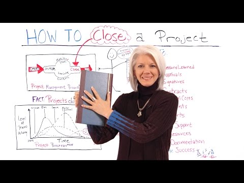 How and Why to Close a Project - Project Management Training