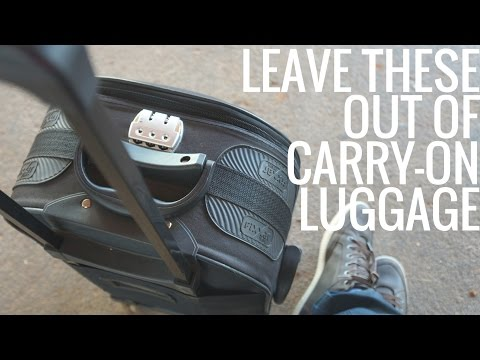 Thumbnail: 5 Things Not to Pack in Your Carry-On Luggage