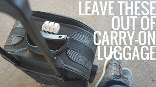 One of Love and London's most viewed videos: 5 Things Not to Pack in Your Carry-On Luggage