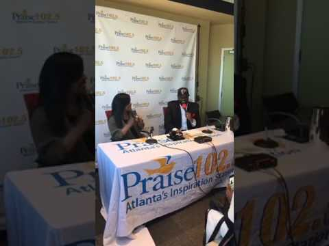 CeCe Winans interview w/ Praise 102.5