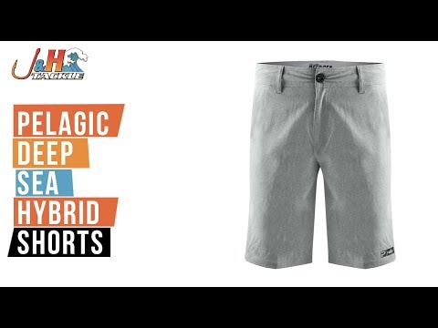 Pelagic Deep Sea Hybrid Shorts Get Wet!
