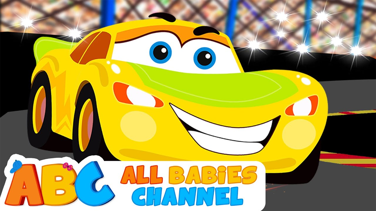 cars finger family song learn colors with race cars kids songs all babies channel