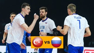Волейбол. Турция - Россия. Мужчины. Чемпионат Европы 2019