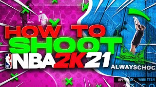NBA 2K21 Tip: How To Green/Make EVERY Shot in 2K21