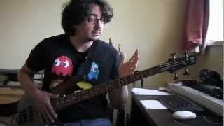 "Bass Lesson - how to play ""Leave That Thing Alone"" by Rush"