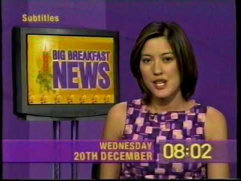 The Big Breakfast - News Headlines - 20th Dec 2000