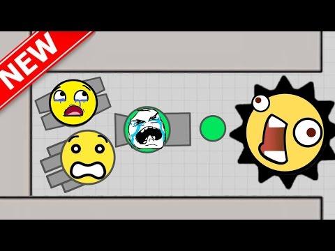 DIEP.IO | NEW EPIC TANK & CRAZY MAZE GAMEPLAY! (slither.io / splix.io / diep.io type game))