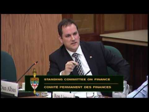 CMHC President speaks at Finance Committee