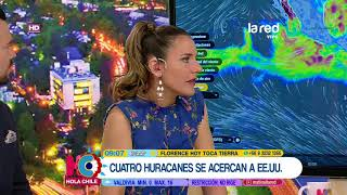 Con imágenes en vivo: La trayectoria y peligrosidad que podría tener el huracán