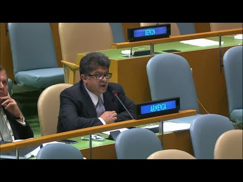 Armenia First & Second Right Of Reply (UN Sustainable Development Summit 2015, General Assembly)