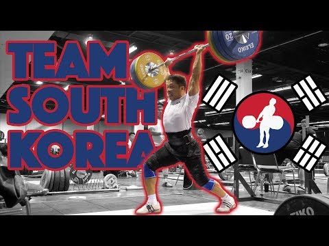 Team South Korea (Yoon Jin Hee 105kg CJ + Won Jeongsik 150kg Power CJ) - 2017 WWC [4k 60]
