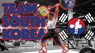 Team South Korea (Yoon Jin Hee 105kg CJ + Won Jeongsik 150kg Power CJ) - 2017 WWC [4k 60]