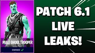 🔴 FORTNITE: PATCH v6.1 LIVE LEAKS AND FINDS! (Early Show) | !join | Super Chat ENABLED! ✔