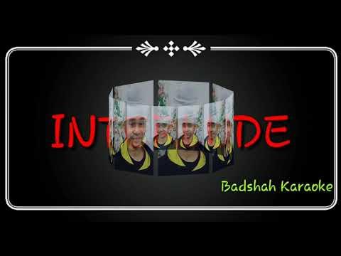 Tere Nam Ka Diwana Tere Ghar Ko-Sooraj Aur Chanda - Karaoke By Badshah Anand