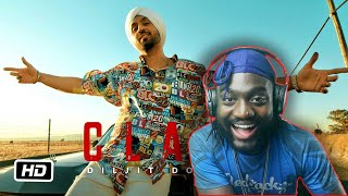 UK REACTS TO DILJIT DOSANJH: CLASH (OFFICIAL MUSIC VIDEO)   G.O.A.T.