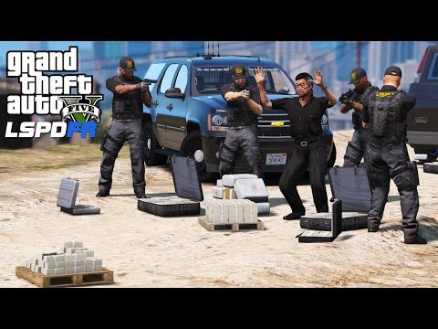 GTA 5 LSPDFR Police Mod 377 | DEA | Drug Enforcement Administration Cracking Down On Drugs & Gangs