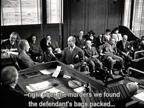 The Lady From Shanghai - The Trial Scene