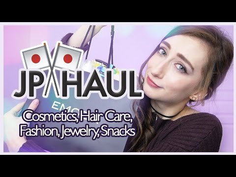 MASSIVE JAPAN HAUL 🇯🇵  😲 Cosmetics, Haircare, Fashion, Snacks...