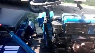 Переоборудование из мотоблока ЗУБР в мини-трактор