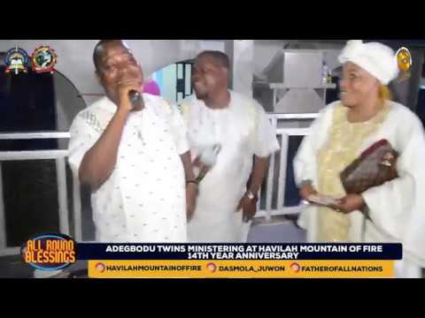 Download ADEGBODU TWINS LIVE AT HAVILAH MOUNTAIN OF FIRE WITH THE OLUBORI'S
