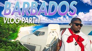 Travel Vlog Barbados Part 1   I Made $4,000 On The Plane