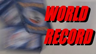 pokemon card unpacking speedrun (world record dec 21 2019)