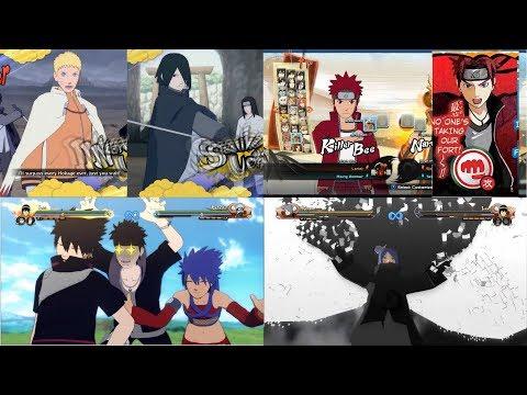 Naruto Shippuden Ultimate Ninja Storm 1,2,4 Mods +Sasuke&Naruto Port Test +Shinobi Striker Models