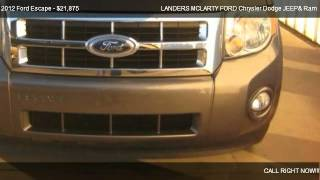 2012 ford escape xlt - for sale in ...