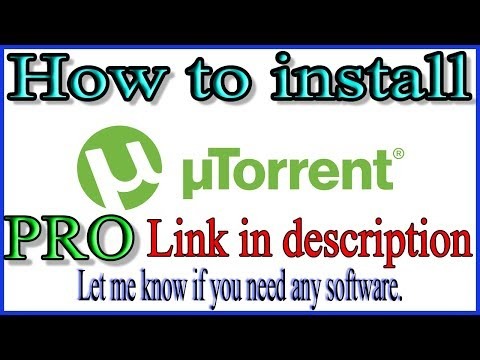 UTorrent Pro|How To Install UTorrent Pro For Free| Urdu/Hindi