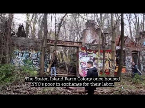 Inside the Abandoned Staten Island Farm Colony with Untapped Cities and NYCEDC