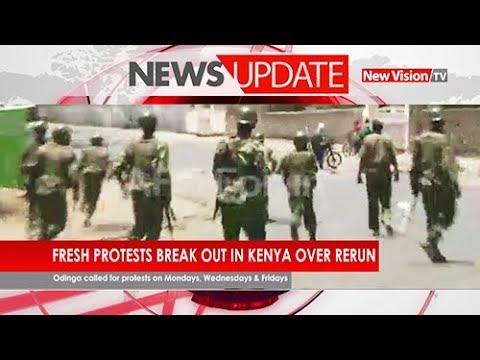 Fresh protests break out in Kenya